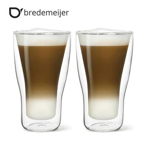 Двустенни стъклени чаши за Latte Machiato 340мл.