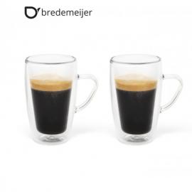 Двустенни стъклени чаши за кафе 100мл.