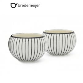 """Комплект  от 2бр. керамични чаши """"Shanxi""""без дръжки"""